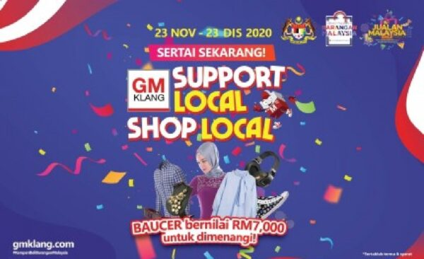 GM Klang's 'Support Local, Shop Local' campaign initiative helps local traders